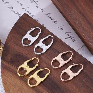 Tory Burch Lucky 8-Character Gemini Earrings